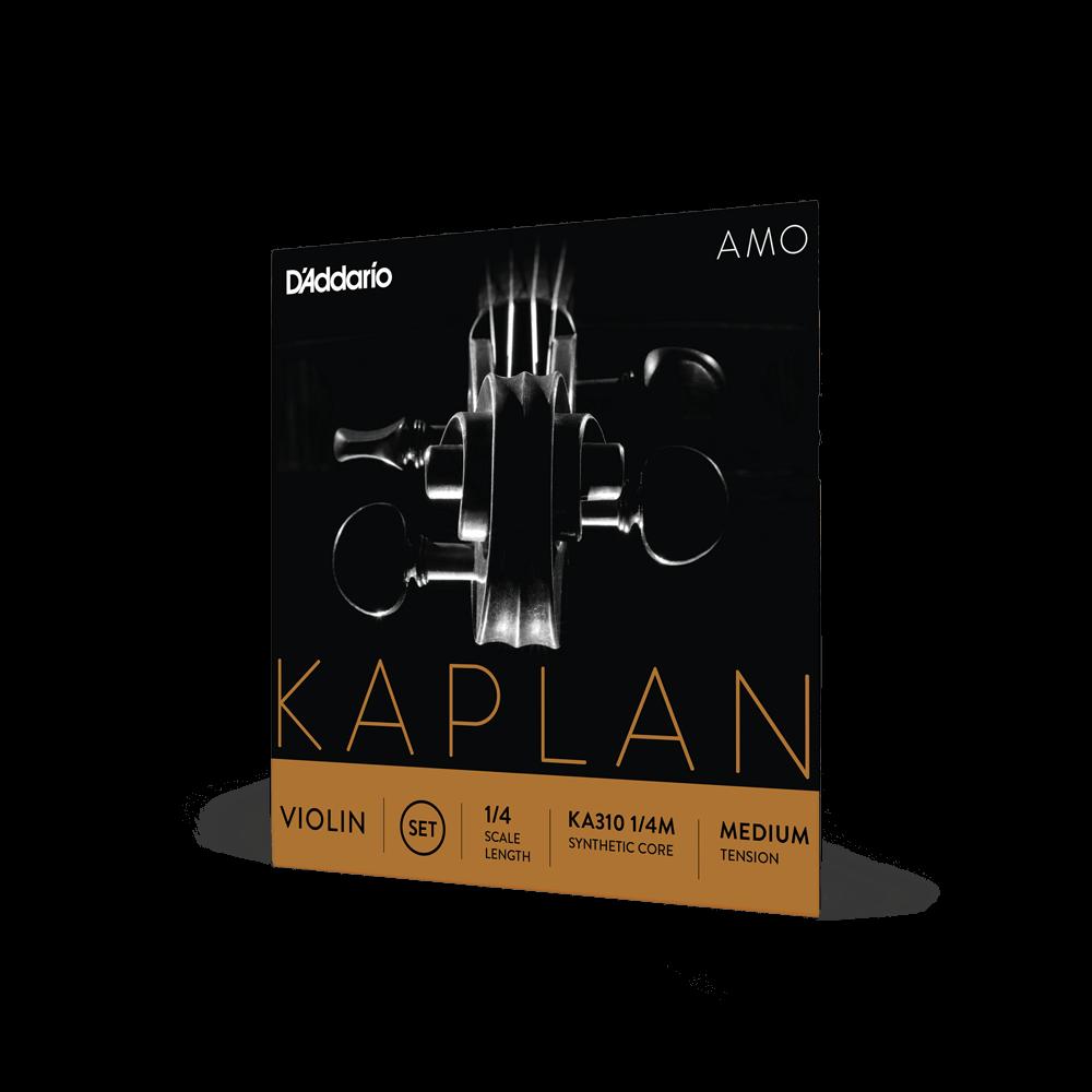 Kaplan AMO Violin A String 4//4 -HEAVY GAUGE Aluminum Wound