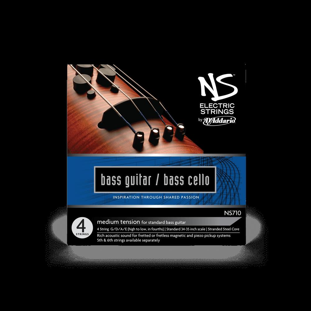 Ns Electric Bass Cello String Set Orchestral D Addario
