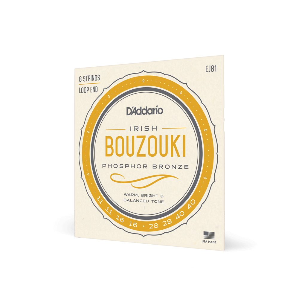 D/'Addario EJ81 Irish Bouzouki Strings