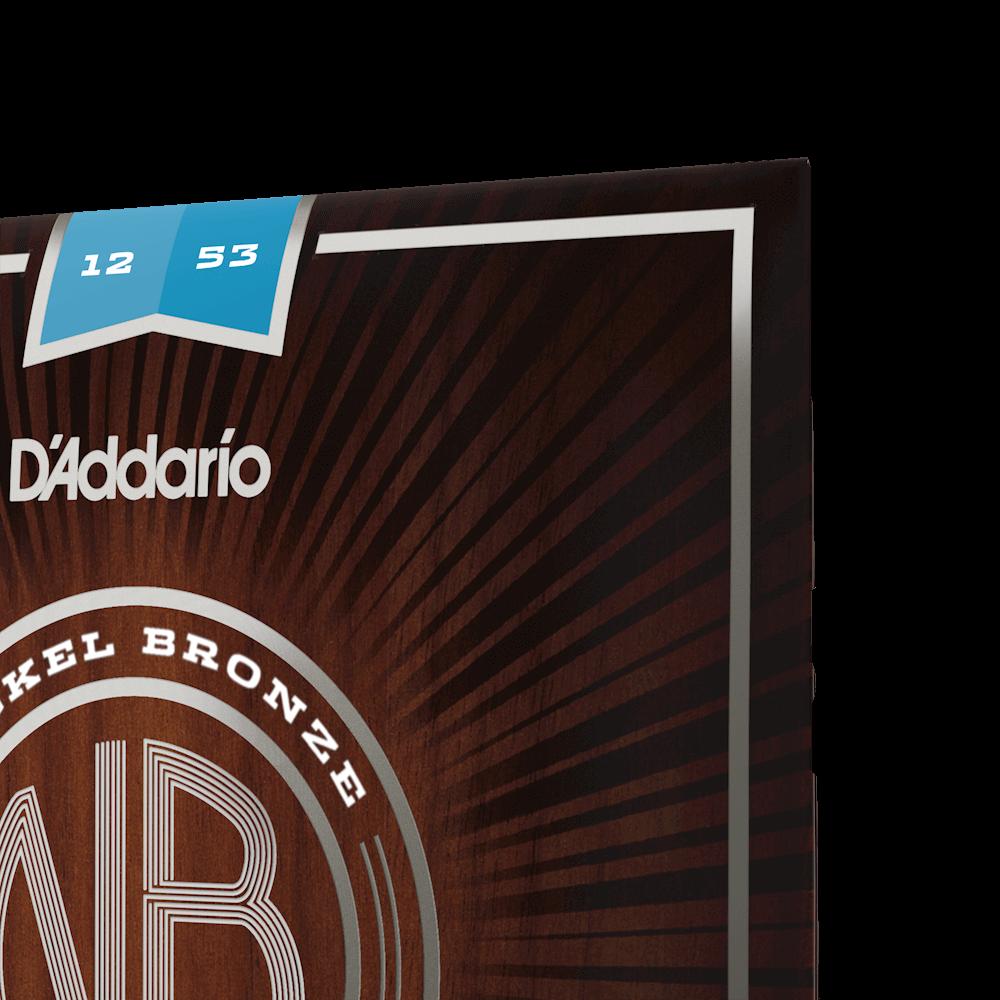 NB1253 12-53 Nickel Bronze Acoustic Light D/'Addario