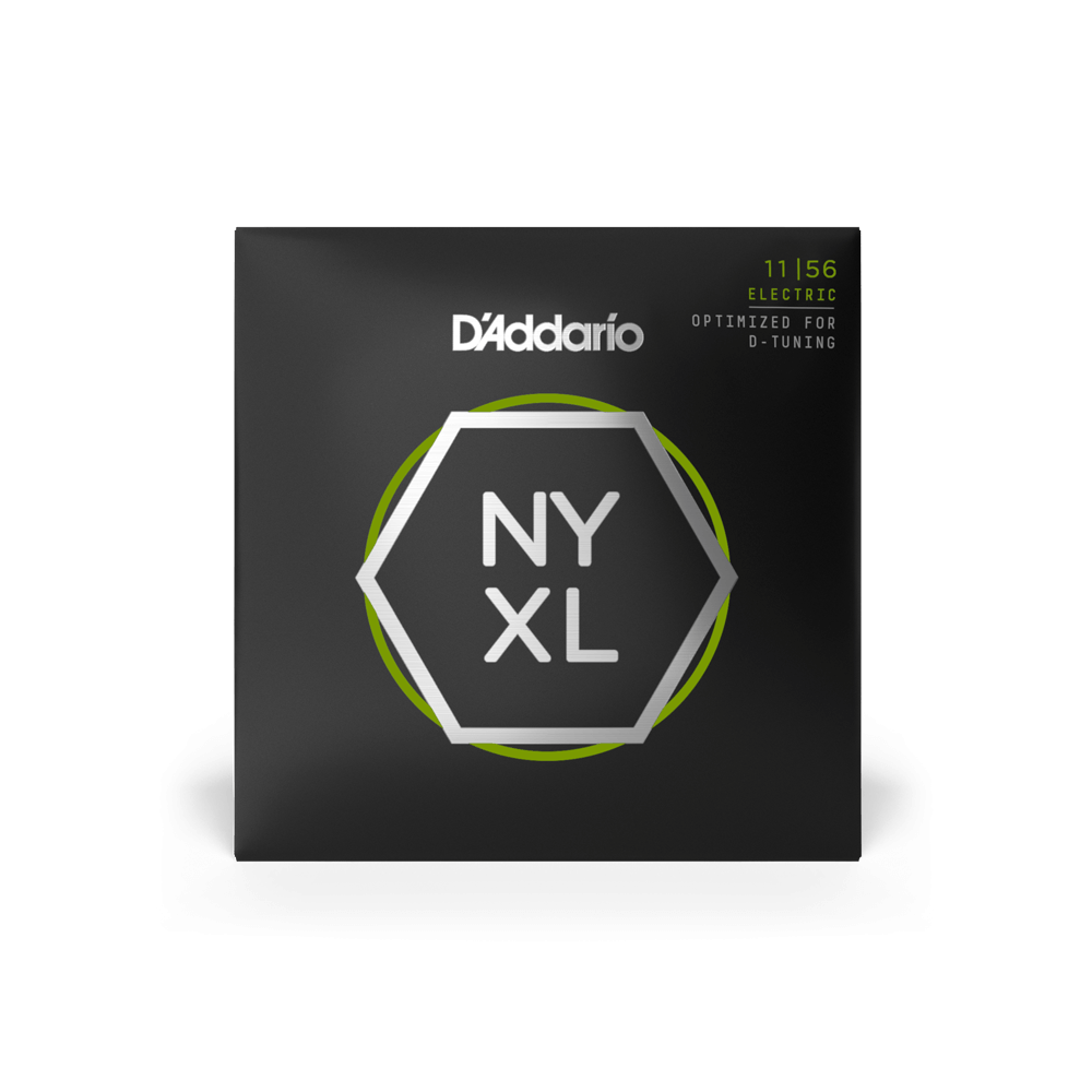 D/'Addario NYXL1156 Medium Top//Extra Heavy Bottom Electric Guitar Strings 11-56