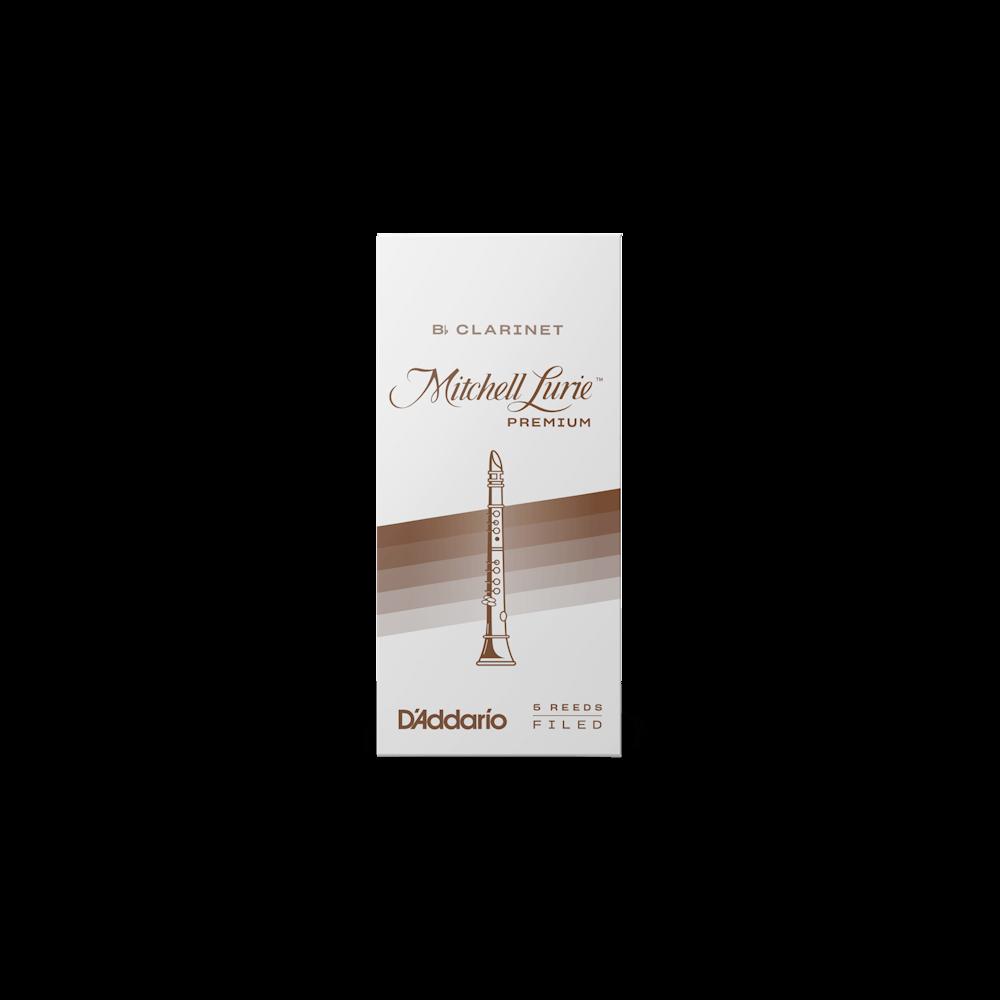 2.5 Box of 5 Mitchell Lurie Premium Bb Clarinet Reeds