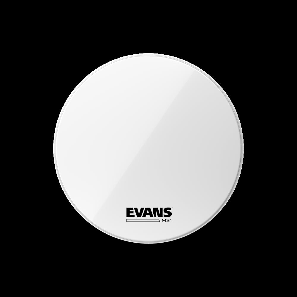 "Evans 28/"" White MS1 Bass Drumhead"
