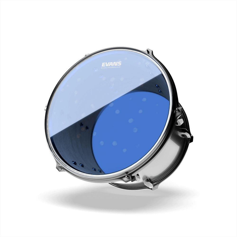 TT12HB Evans Hydraulic Blue Drum Head 12 Inch