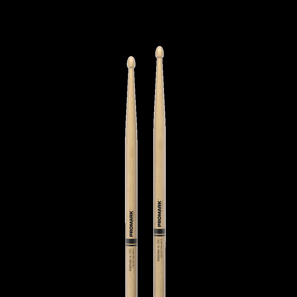 "pair Promark RBH535AW Rebound 7A .535/"" Hickory Acorn Wood Tip Drum Sticks"