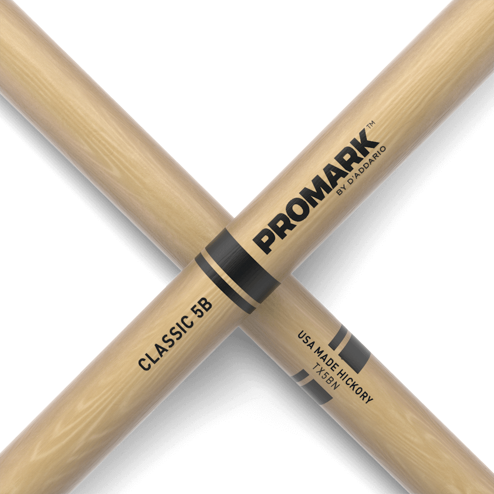 Pro-Mark TX5BN Hickory 5B Nylon Tip Classic