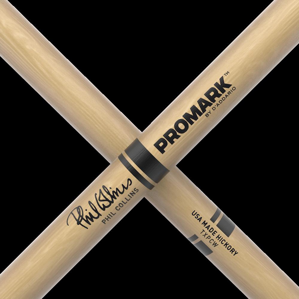 Promark Artist Series American Hickory Phil Collins Drum Sticks