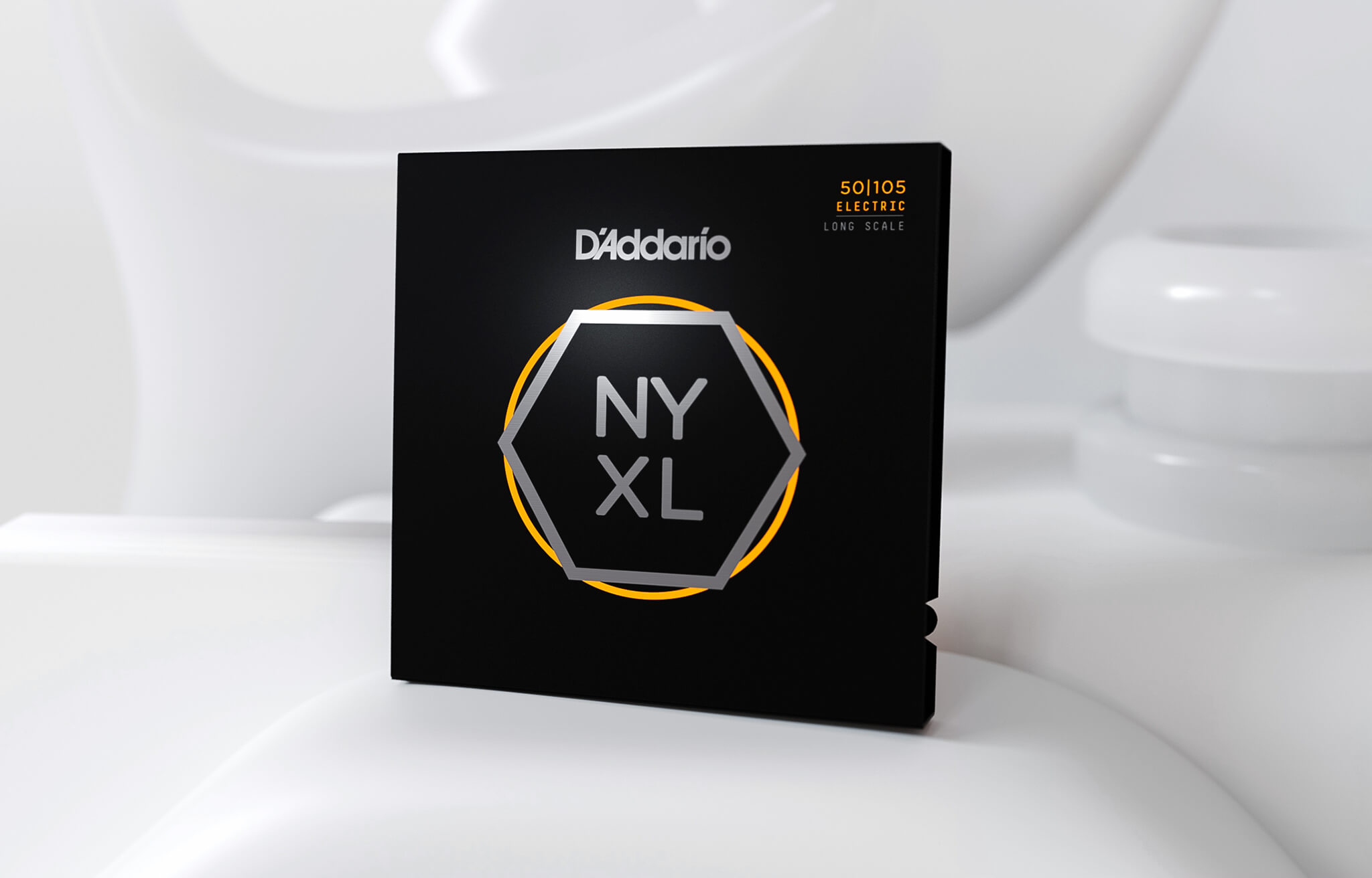 55-110 Heavy Bass Guitar Strings D/'Addario NYXL55110 Long Scale